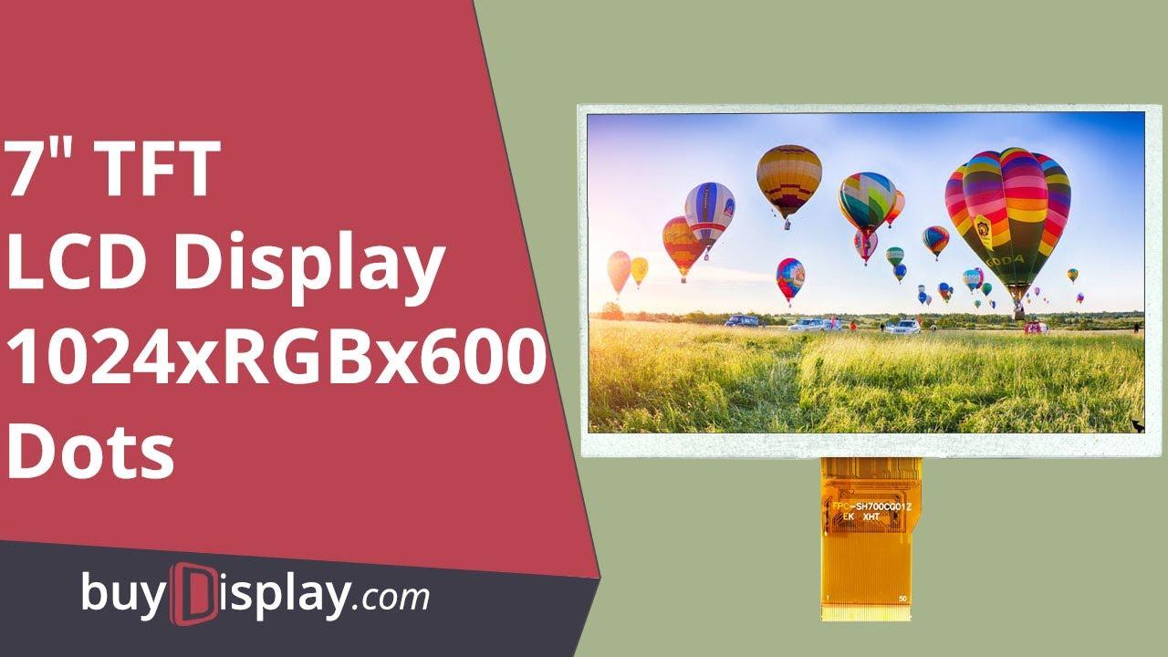 7 inch TFT LCD Display Module Screen 800x480 AT080TN64 AT080TN52 w//OPTL Touch