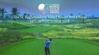 World Golf Awards 2019 promo