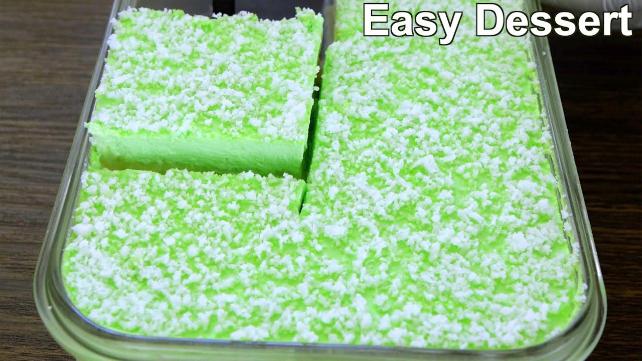 Delicious Dessert with 2 cup Milk | Easy sweet Dessert recipe