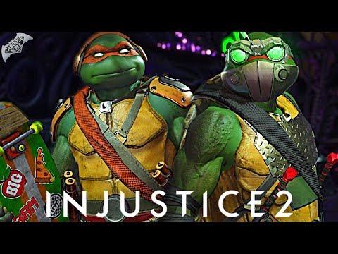 Injustice 2 Online - EPIC NINJA TURTLES GEAR!