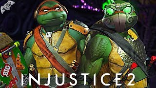 Injustice 2 Online - EPIC NINJA TURTLES GEAR!