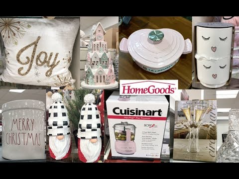 OMG HOMEGOODS HAS CHRISTMAS DECOR| YOU HAVE TO SEE WHAT I FOUND!!!!!