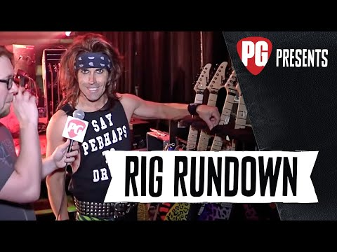 Rig Rundown - Steel Panther's Satchel [2015]