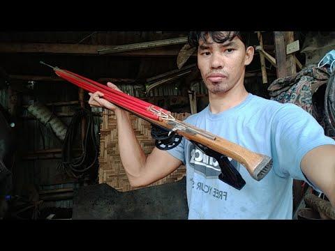 How To Make Speargun?? 130cm Speargun..