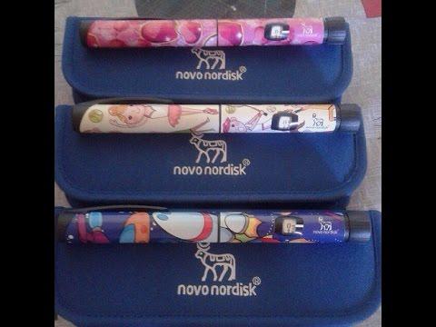 NOVOPEN ECHO ручка для ввода инсулина и наклейки для детей