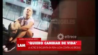 María Eugenia Ritó rompió el silencio y hablo con Ángel de Brito