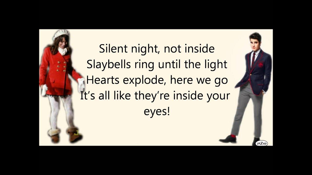 Glee - Extraordinary Merry Christmas WITH LYRICS - YouTube