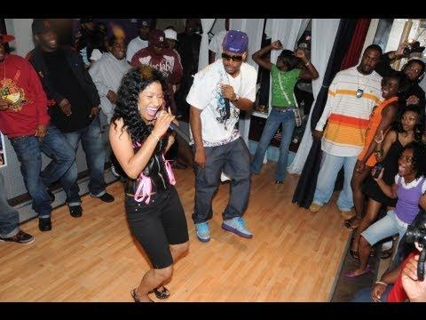 Nicki Minaj in Baltimore