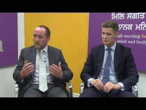 jatinder Singh hosts James Bird & Eddie Hughes  From Conservative Party