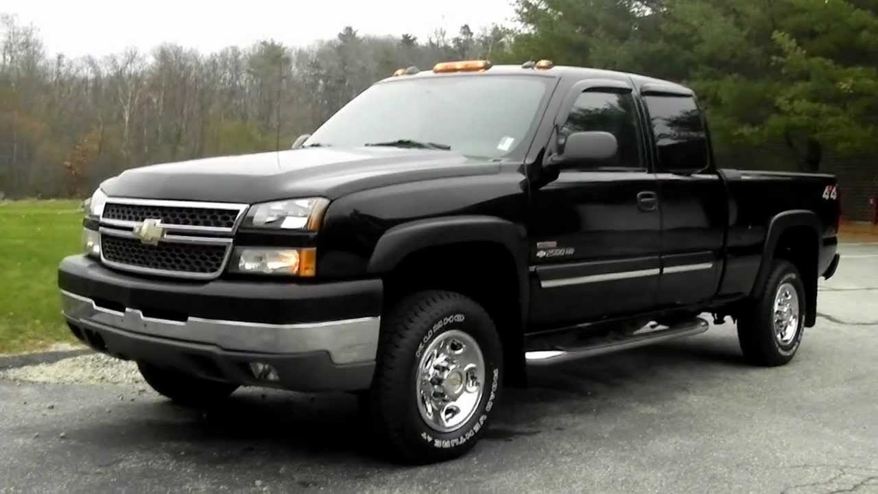 2005 chevy silverado 2500hd ext cab 6 6 ft bed 6 6l lly duramax diesel loaded youtube. Black Bedroom Furniture Sets. Home Design Ideas