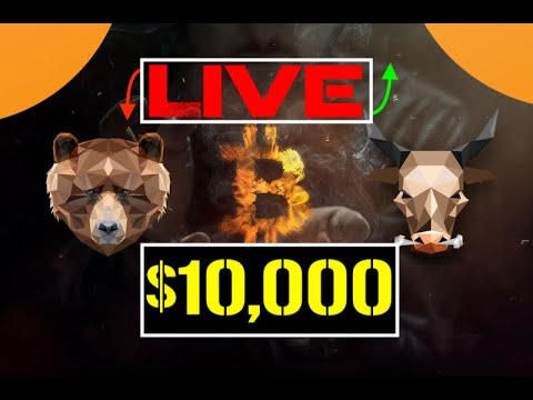 Bitcoin | ↘  Below $10,000 ↘ 🔴 | LIVE | 🎥
