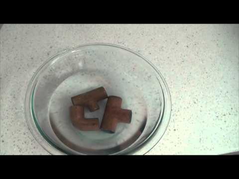 Easy Way To Clean Copper Or Brass Vinegar Salt
