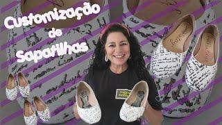 Customização de Sapato – Customisation Shoe – La personalización del zapato
