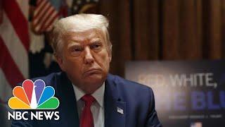 Live: Trump Holds Roundtable on Storm Preparedness, COVID-19 Response | NBC News