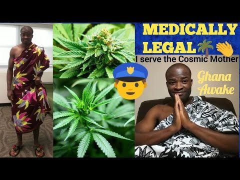 THE MAR!JUANA H£RB IS OFF!CIALLY LEGAL IN GHANA FOR MED*CALL PURPOSES🌴👏 - EVANGELIST ADDAI