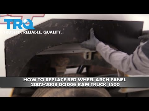 How to Replace Bed Wheel Arch Panel 2002-08 Dodge Ram Truck 1500
