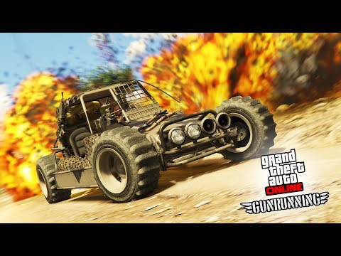 GTA 5'S CRAZIEST NEW DLC GUNRUNNING RESUPPLY AND RESEARCH FAST TRACKING EVER -GTA 5 OPEN LOBBIES