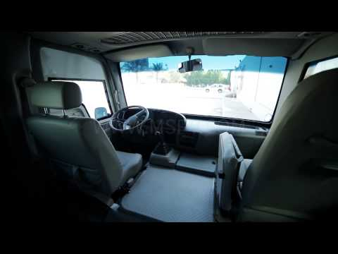 Armoured Toyota Coaster | Armoured Passenger Bus | Armoured Cars In Africa | France | Kuwait | Benin