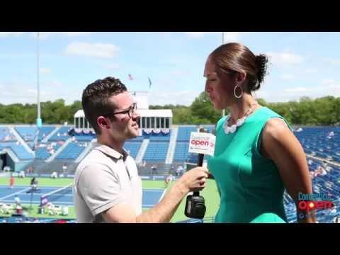 Connecticut Open: Rebecca Lobo Talks Healthy Living, UConn Sports & Tennis