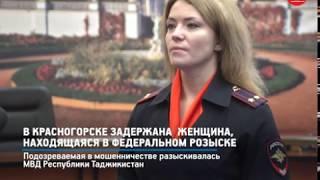 кРТВ. В Красногорске задержана  женщина, находящаяся в федеральном розыске