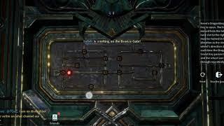 [Dragon Raja] Lullehツ - Code-Bronze Door Puzzle (1st) - Picture in description!