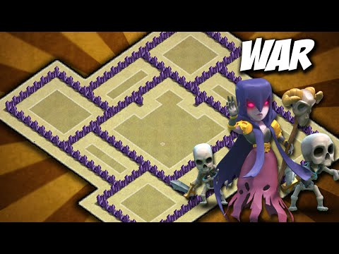 Clash Of Clans - BEST TH7 WAR BASE /