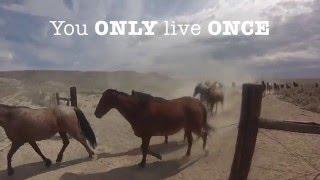 USA - Convoyage de chevaux dans un ranch western avec Randocheval