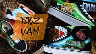 Dragon Ball Z Custom Vans