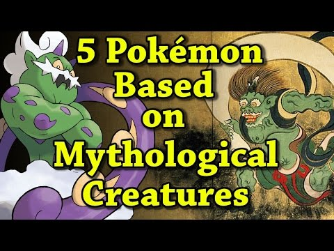 5 Pokemon Based on Mythological Creatures