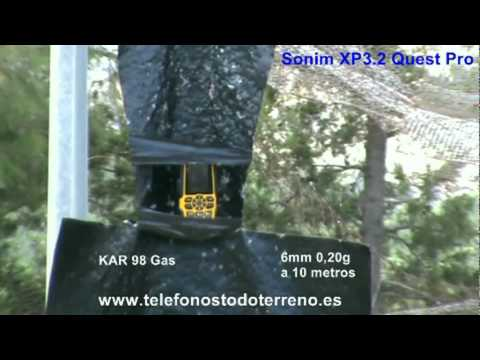 Sonim XP3.2 Quest Pro - Un examen con airsoft (Spanish)