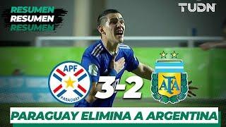 Resumen y Goles | Paraguay 3 - 2 Argentina | Mundial Brasil Sub-17 8vos | TUDN