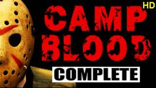 No More Room In Hell. Camp Blood. Complete CO-OP walkthrough Commentary. HD Video - Pugmanplays