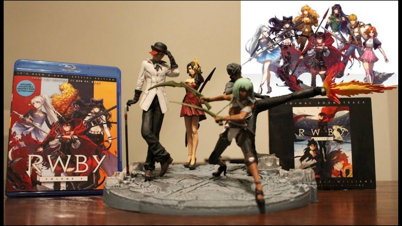 rwby antagonists figures unboxing youtube