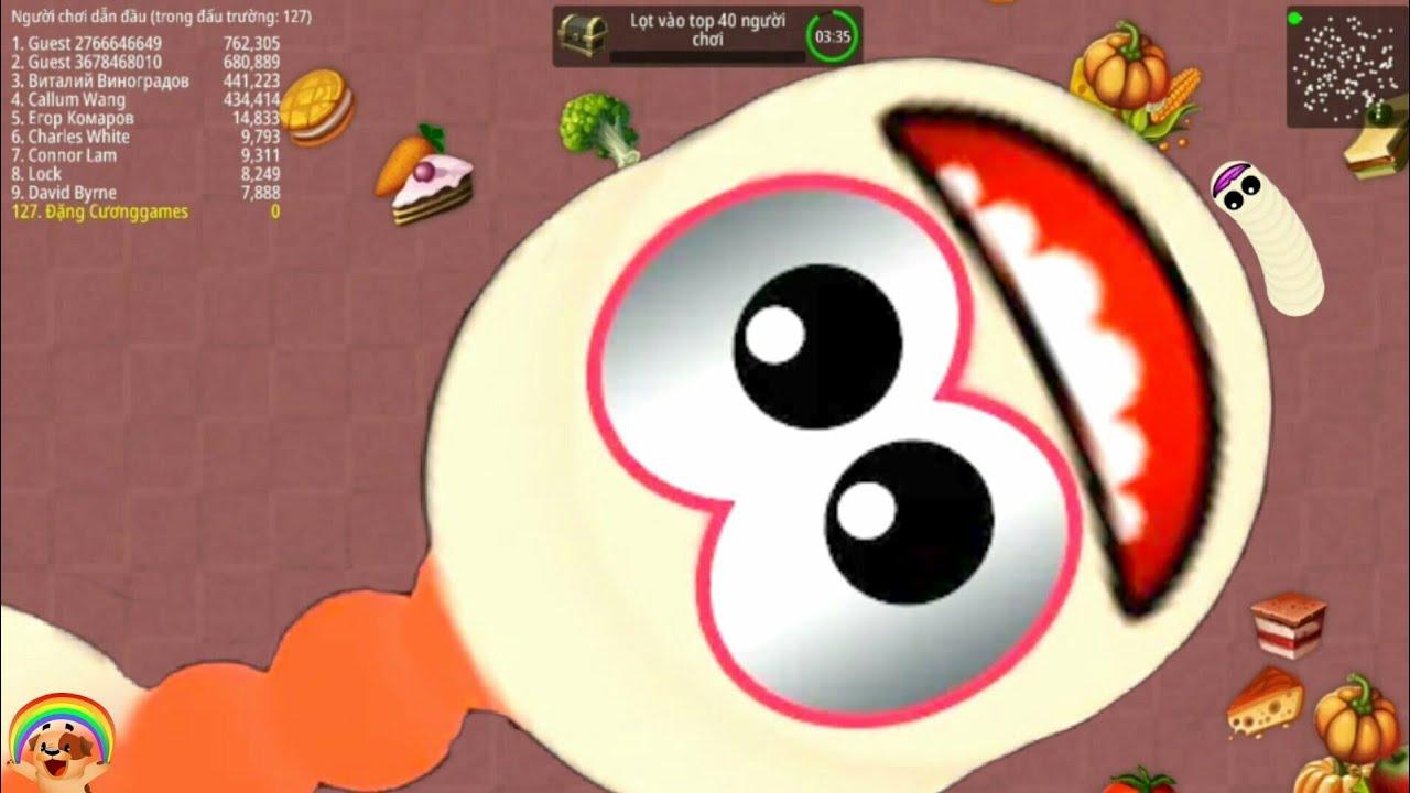 Worms zone.io : Rắn săn mồi, trò chơi con rắn lv 86