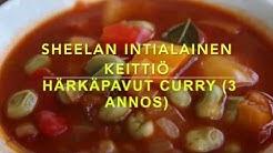 Härkäpavut curry