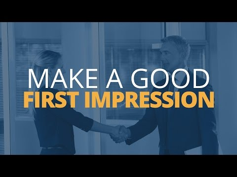 The Importance of Making a Good First Impression   Brian Tracy