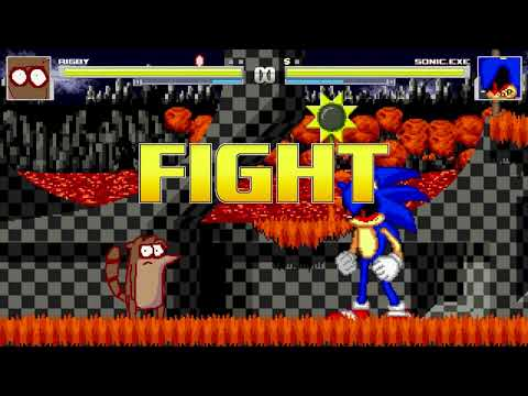AN Mugen Request #1163: Rigby VS Sonic.exe