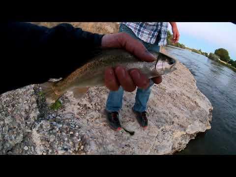 Fishing Casper (north Platte River)