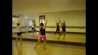 Carly Lenzi dancing to