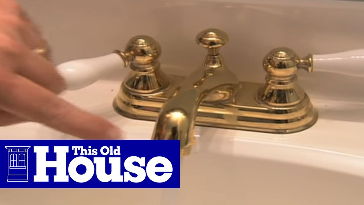 how to clean a faucet aerator this old house