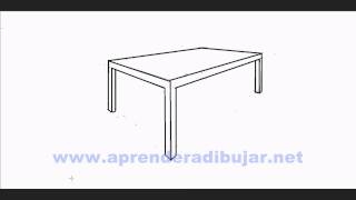 How To Draw A Table In Perspective - Things To Draw