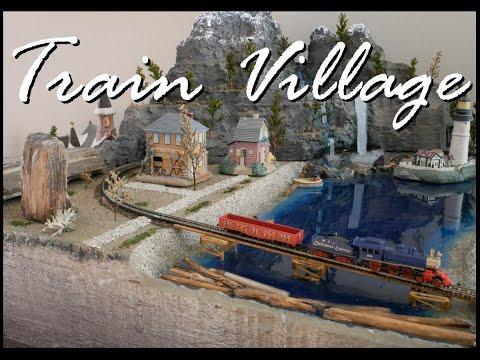 Building a Z Gauge Train Village. 2019.