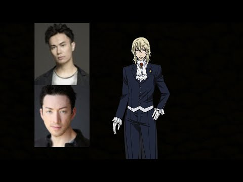 Anime Voice Comparison- Viscount Druitt (Black Butler)
