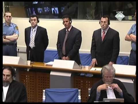 Initial Appearance - Haradinaj et. al. - 14 March 2005