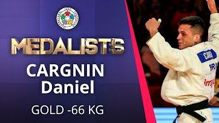 CARGNIN Daniel Gold medal Judo Brasilia Grand Slam 2019