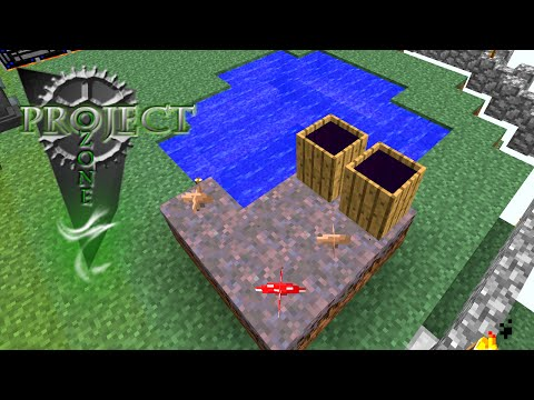 Minecraft Mods Project Ozone - WITCH WATER [E15] (Modded HQM Sky Block)