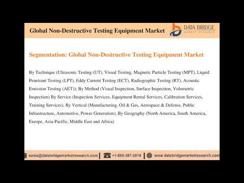 Global Non Destructive Testing Equipment Market – Industry Trends And Forecast To 2024