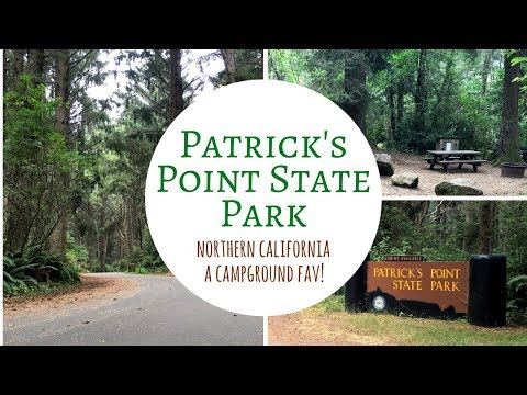 Patrick's Point State Park ~ Northern California ~ A Campground Fav!