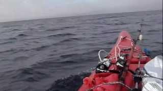 葉山カヤック釣りバカ日記②一色海岸、長者が崎沖は最高ロケーションだよ.