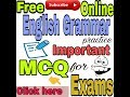 English Grammar For Competitive Exams MCQ Which asked in last exam || AG Advise ||
